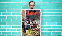 Batman Poision Ivy Dc Comic Art Work - Wall Art Print Poster   -  Quote Art Geekery